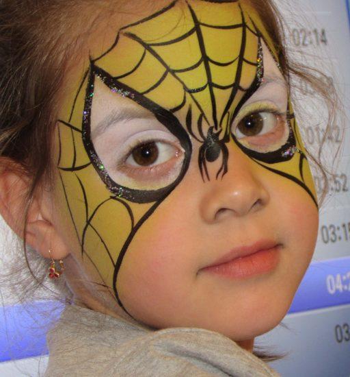 Pókember a kezdő arcfestés tanfolyamon