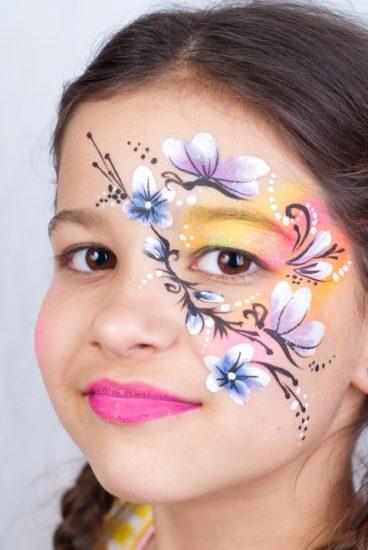 Virágos arcfestés, Soós Krisztina