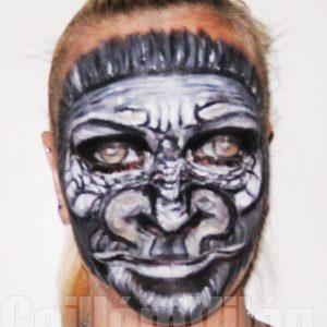 Gorilla-arcfestés